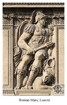 Roman Mars, Louvre